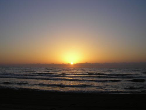 Sunrise Picture - Los Arenales