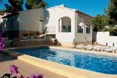 Moraira Holiday Rentals - Detached Villa With Pool