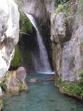 Fuentes de Algar Waterfall