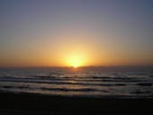 Sunrise Over Los Arenales Beach