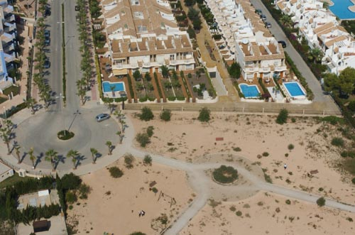 Aerial Picture of My House in Cabo Roig