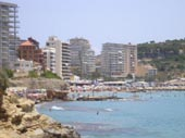 Seafront and Some Calpe Hotels