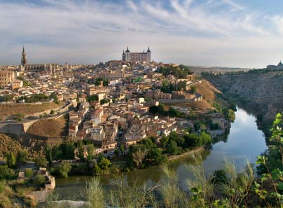 Toledo Spain, the Old Town.