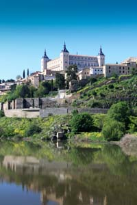 The Alcazar Palace Toledo Spain