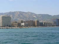 Fuengirola Viewed From the Sea