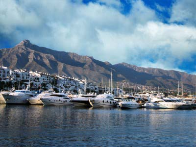 Puerto Banus Harbour Costa del Sol Spain