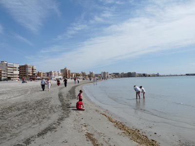 Santa Pola Beach Costa Blanca Spain
